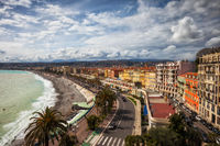 City Skyline of Nice in France