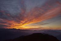 beautiful sunrise in the Himalayan mountains
