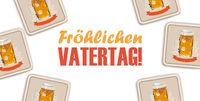 White Background Beer Vatertag Centre