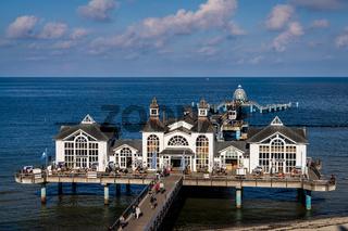 The Sellin Pier, Mecklenburg-Western Pomerania, Germany