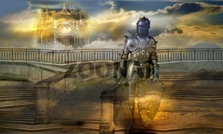 The guardian of the celestial palace