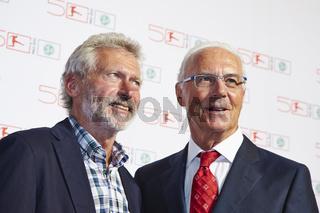 Celebration of the 50 anniversary of the German Bundesliga Foundation (50 Jahre Bundesliga).