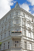 facade of white historical building in Berlin, Germany