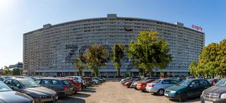 Superjednostka - Socialist Modernism Building Panorama