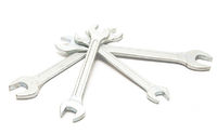 Four silver keys
