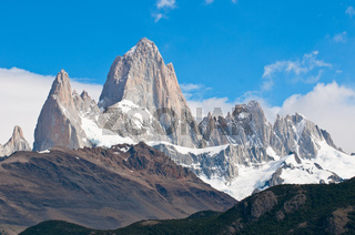 Fitz Roy mountain and Laguna de los Tres, Patagonia, Argentina