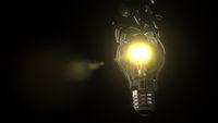 Exploding Light Bulb