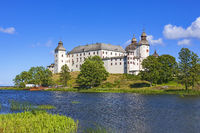 Lacko castle by the lake Vanern in Sweden