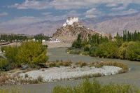 Stakna Monastery and the Indus River, Ladakh