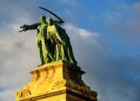 hero square statue budapest