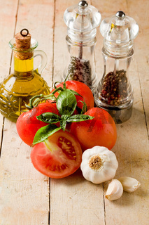 Italian main ingredients