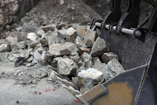 Stone Landslide Bagger