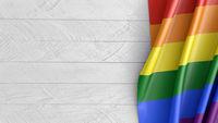 Mockup LGBT flag