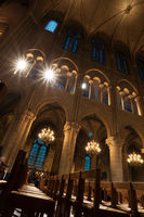 Notre Dame de Paris, interior