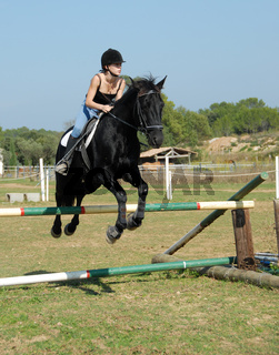 training of jumping
