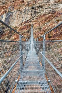 Die spektakuläre Picard-Brücke in der Nähe von Vent, Ötztal, Tirol, Österreich