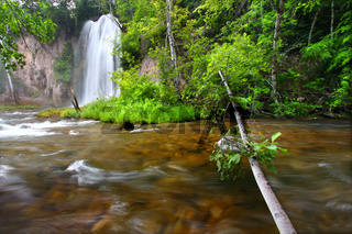 Spearfish Falls of the Black Hills