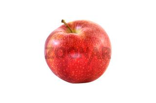 Frischer roter Apfel - freigestellt