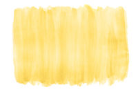 yellow watercolor background with brushstroke texture and rough edges