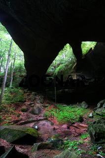Natural Rock Bridge in Alabama