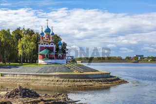 Dimitry on the blood Church of the 17th century, Uglich, Russia
