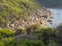 Granite boulders - Wilsons Promontory