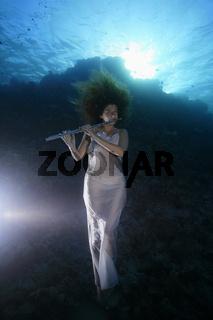 Unterwassermodel, Underwater Model
