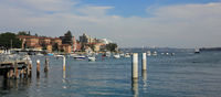 Harbor in Manly, Sydney.
