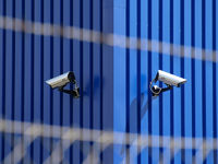 Video cameras as video surveillance