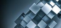 Metal squares background