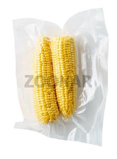 Vacuum sealed corncobs