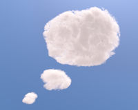 Text bubble cloud shape