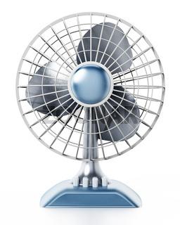 Ventilator isolated on white background. 3D illustration