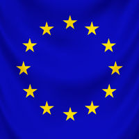 Symbol of united countries in Europe