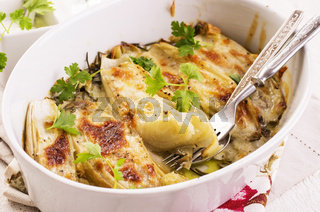 chiron - witlof baked with cheese