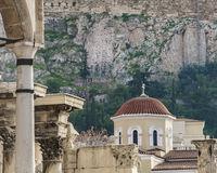 Adrian Emperor Library Ruins, Athens