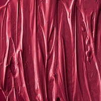 Red lipstick or lip gloss texture as cosmetic background, makeup and beauty cosmetics product for luxury brand, holiday flatlay backdrop or abstract wall art and paint strokes