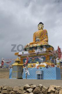Langza Buddha statue, Himachal Pradesh, India