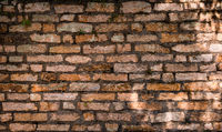 old brick wall, stone wall background -