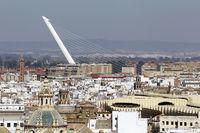 Stadtansicht von Sevilla
