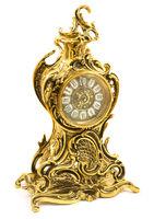Bronze antique table clock