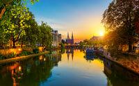 Strasbourg at sunrise France
