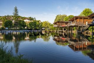 Ferienhäuser auf Stelzen in Chanaz, Savoie