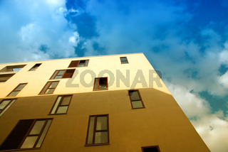 Hafencity Architektur im Halbschatten