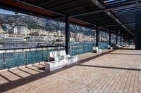 Monaco Principality From Esplanade Rainier III