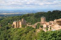 Castle Saissac in France