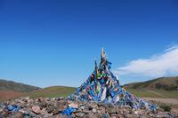 Obo in West Mongolia