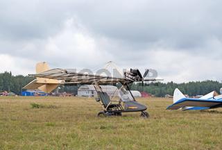 Piligrim ultralight airplane