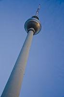 Tower in Berlin diagonal