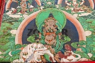 Wanddarstellung Buddha